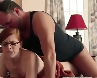 Daughterlover.com: daddy copulates daughter hard three