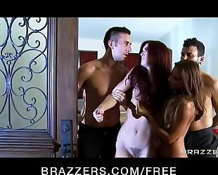 Brazzers.com - married couples swing --- full movie scene at camstripclub.com